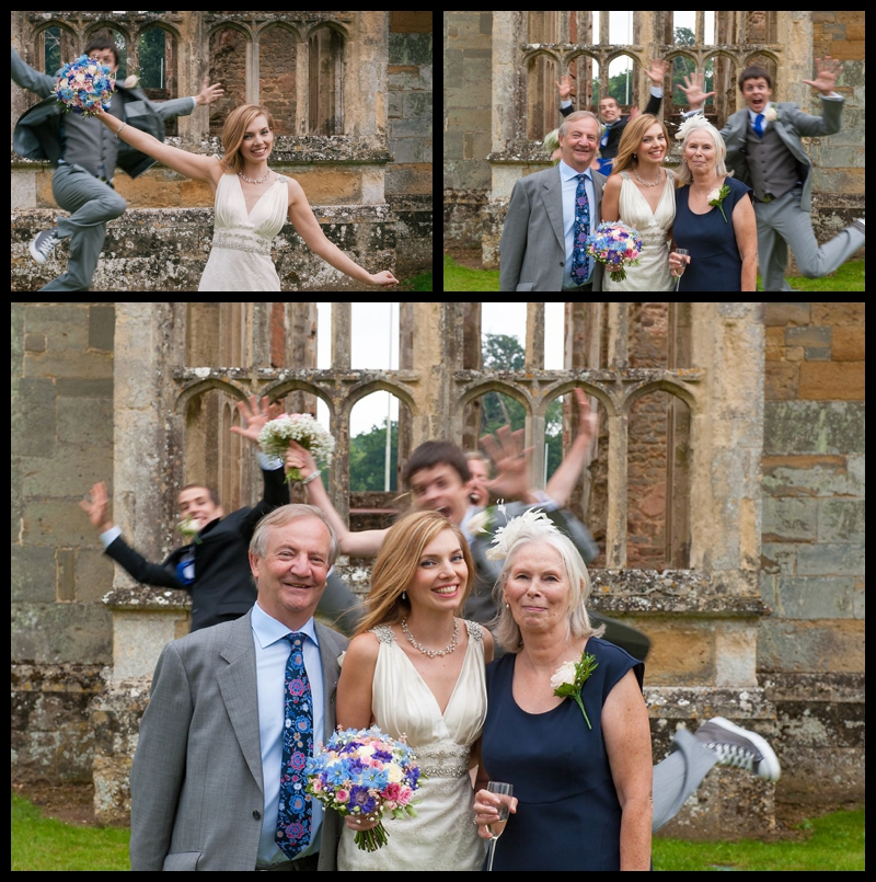 Jess and Phils wedding at The Walled Garden, Cowdray Castle