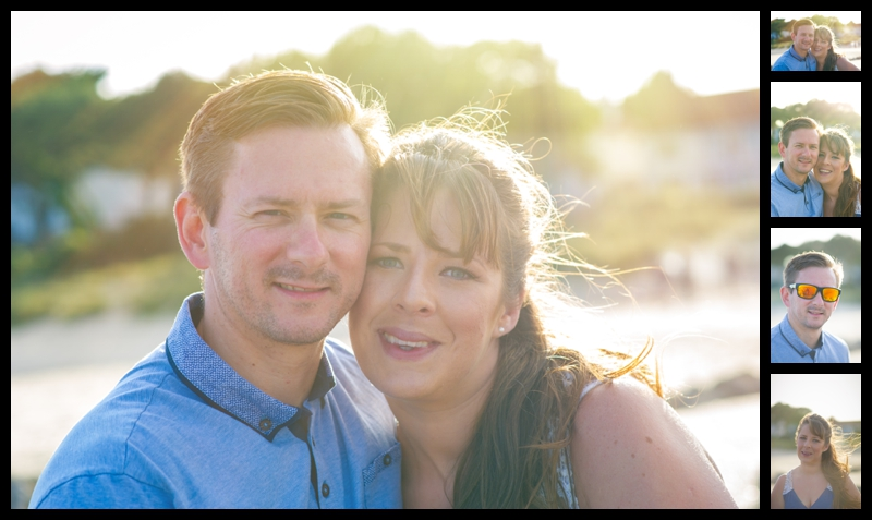 Sandbanks engagement shoot
