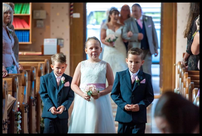 all saints wedding branksome park