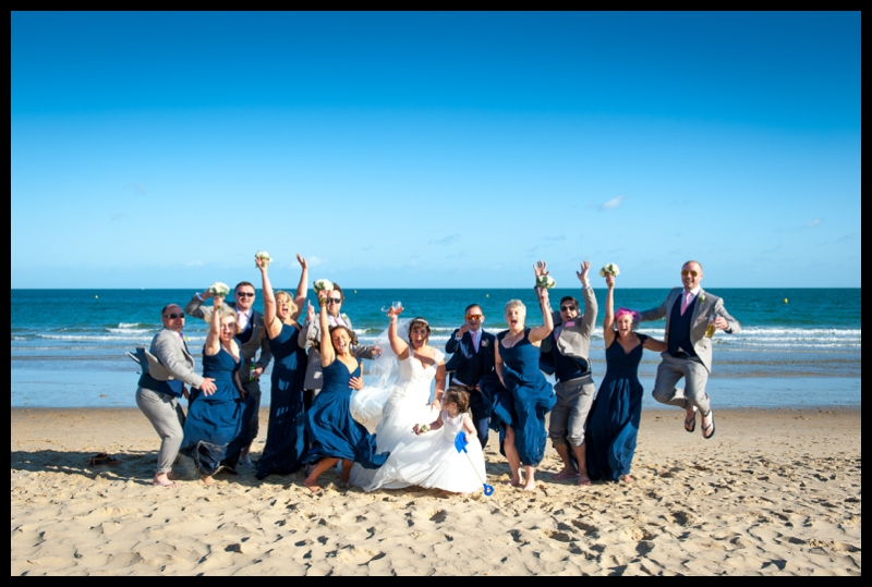 sandbanks beach wedding