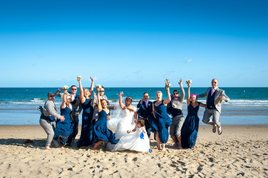 image of sandbanks wedding