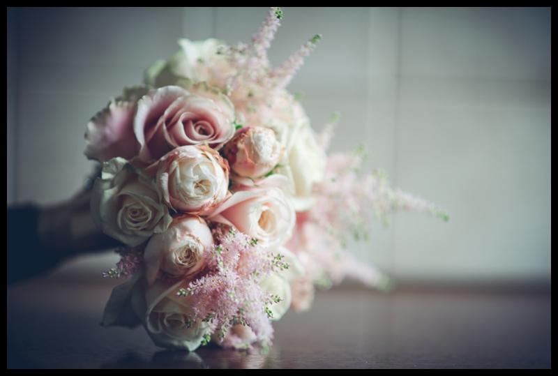 yorkshire wedding brides bouquet