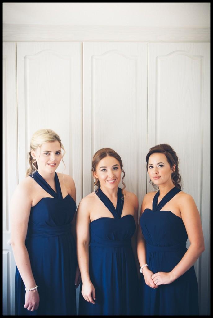 yorshire wedding brides maids