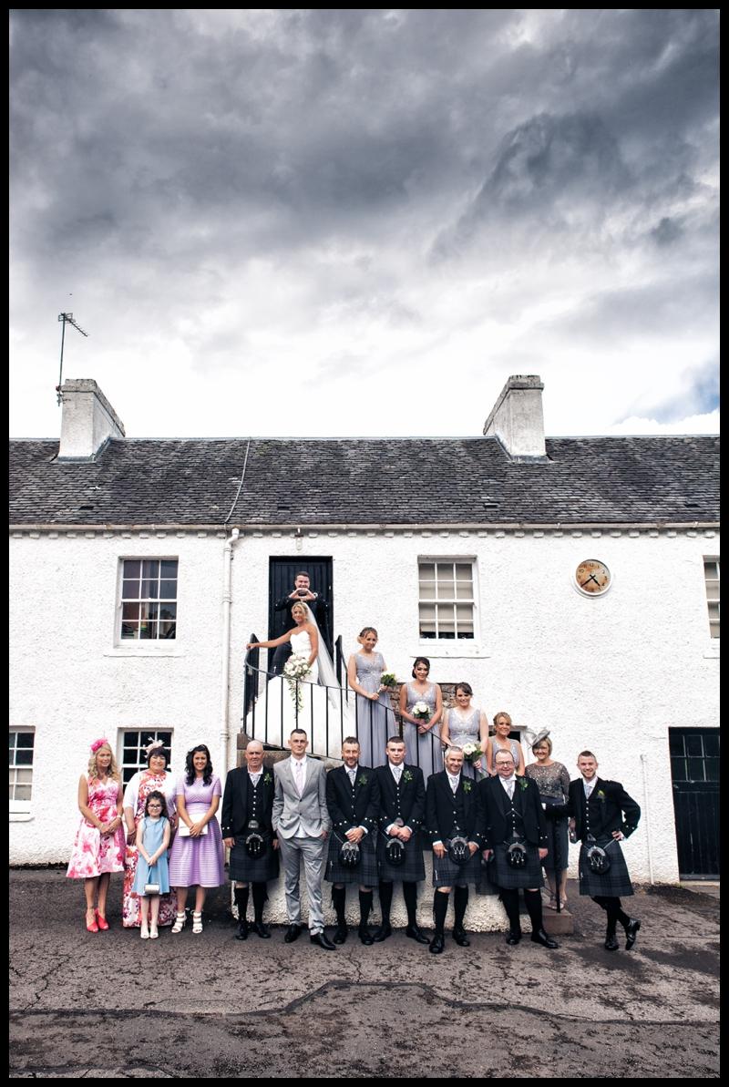 david livingstone centre wedding photographer