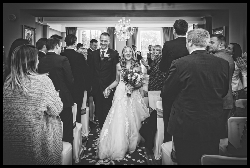 Hatton Court Hotel wedding