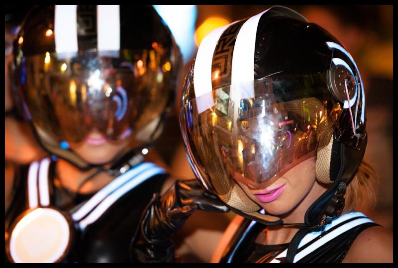 The Ibiza Town club parade