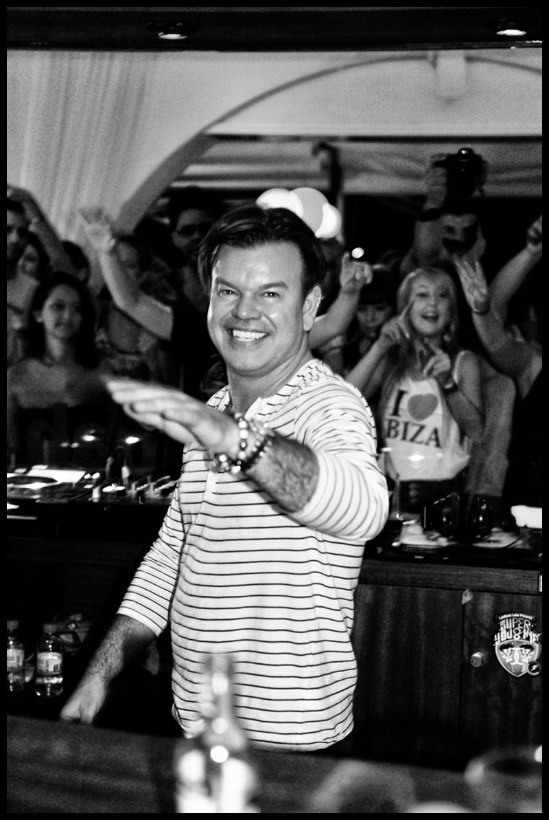 DJ Paul Oakenfold at Savannah Ibiza