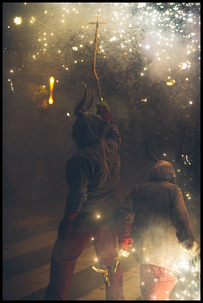 correfoc fire festival