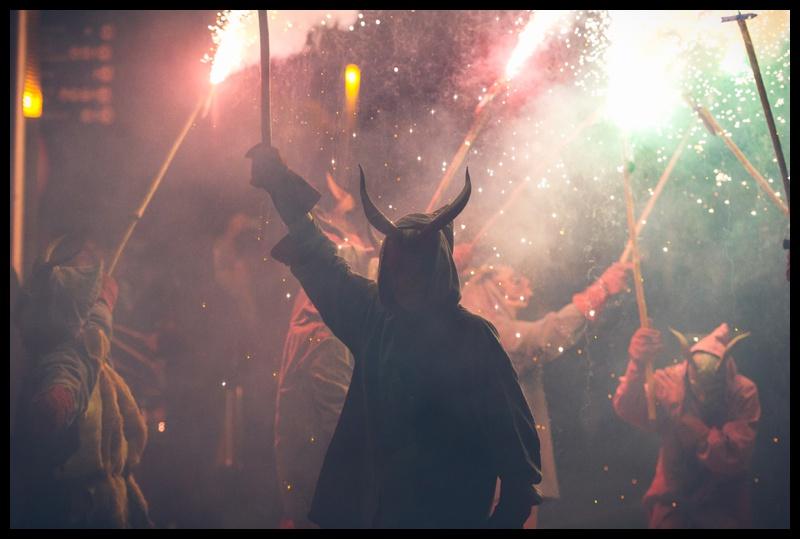 correfoc festival santa eulalia