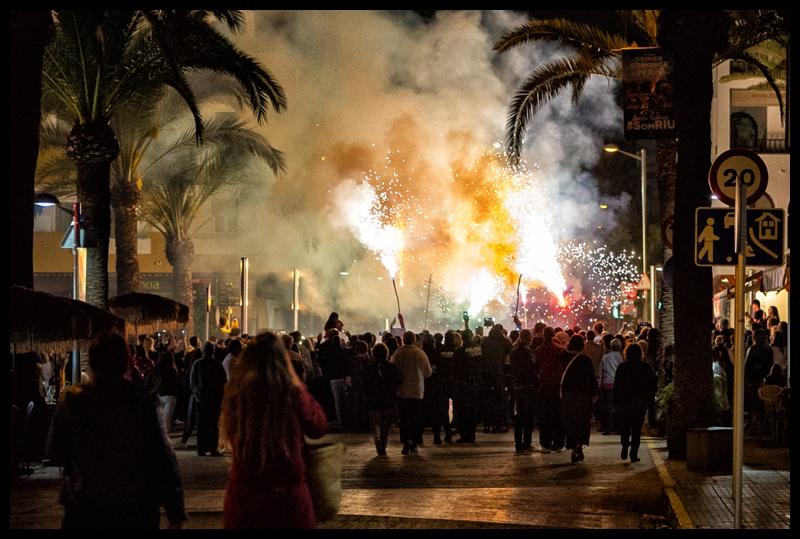 santa eulalia ibiza fire festival