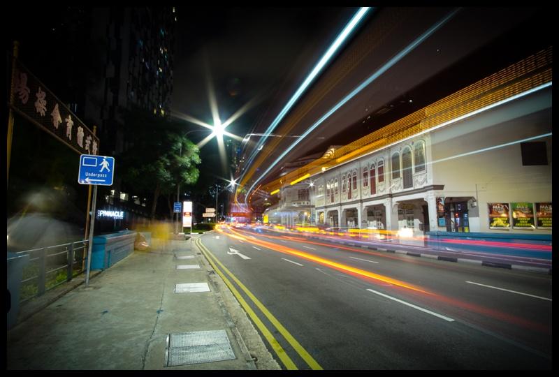 singapore night photography