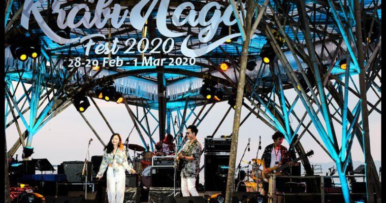 Krabi Naga Music Festival, Krabi, Thailand Feb 2020