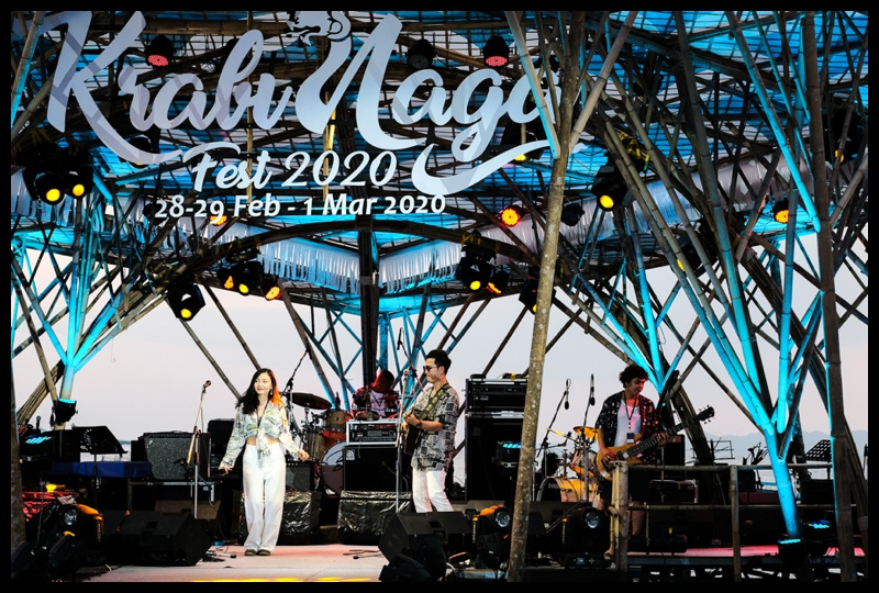 The Krabi Naga Music Festival on Klong Muang beach Krabi 2020