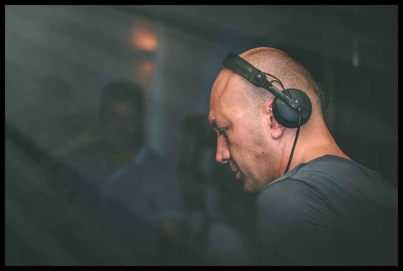 Italian DJ Marco Carola playing a set at Savannah in San Antonio Ibiza
