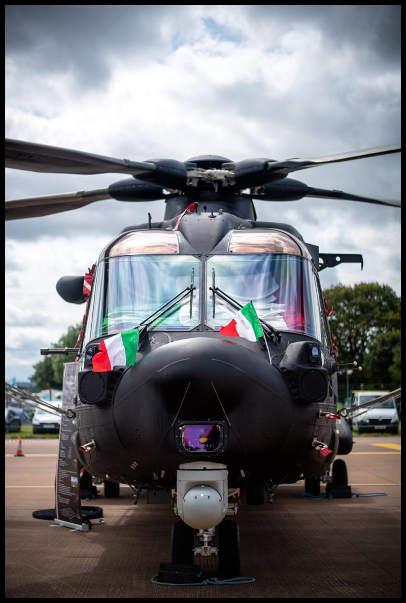 Italian Air force HH 101a Caeser at RIAT 2019