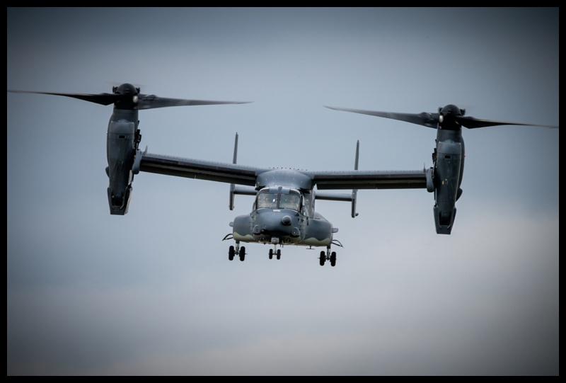 USAF V-22 Osprey at RIAT 2019