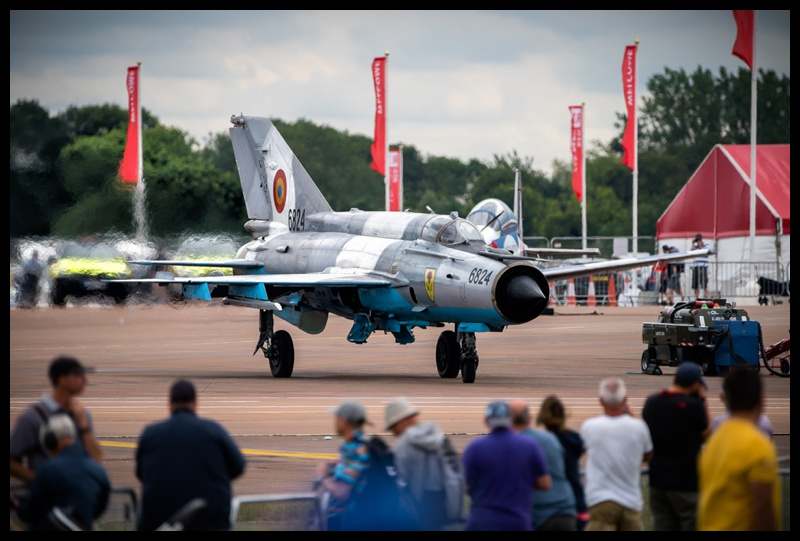 Romanian Airforce Mig 21 at RIAT 2019